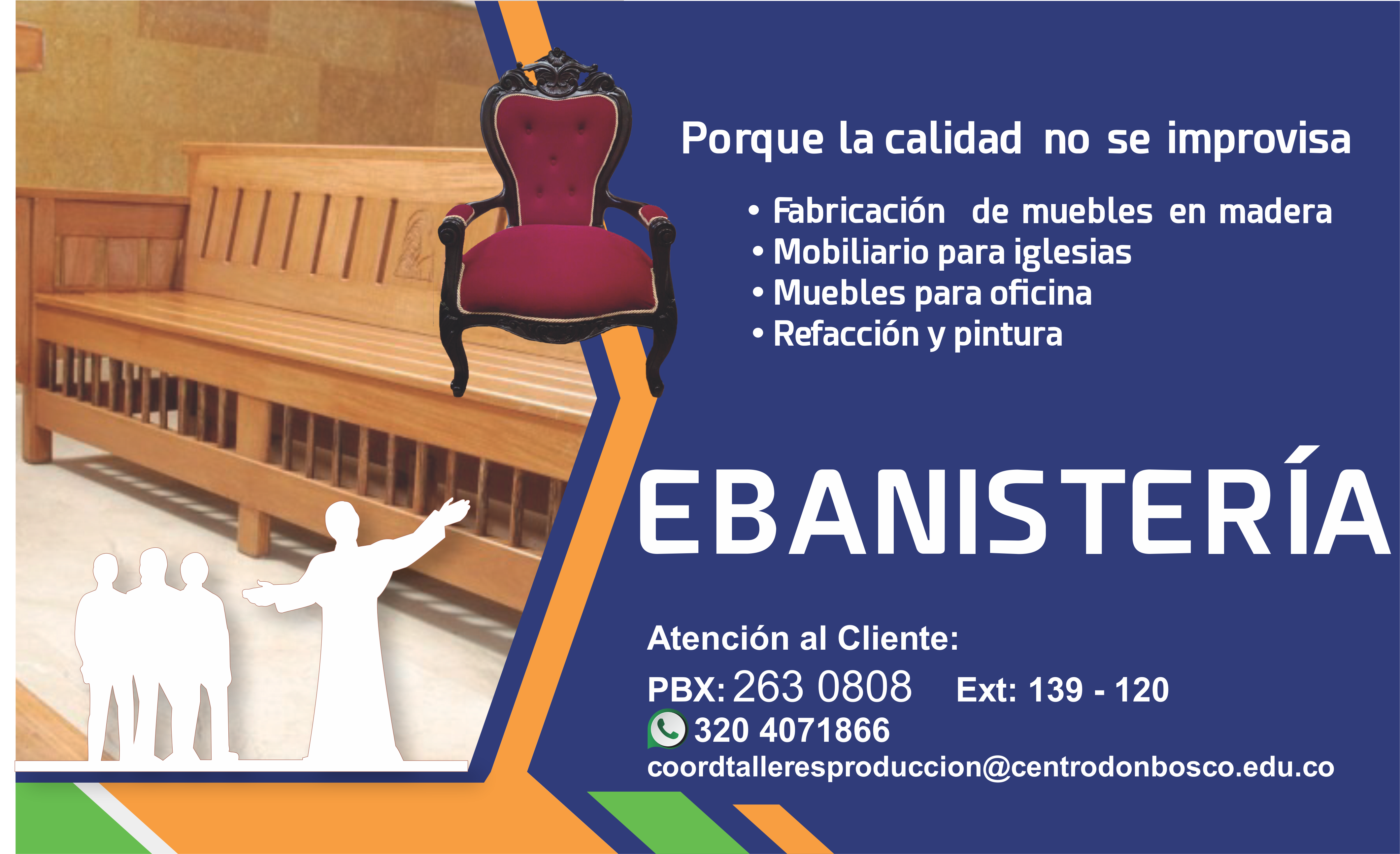 Ebanister A Centro Don Bosco # Muebles Caqueta En Bogota